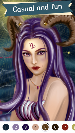 Paintist Pure - Relax Coloring &Paint by Number 1.1.227 screenshots 3