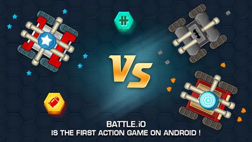 Tank War Battle .io - Multiplayer Games 4.5 screenshots 1