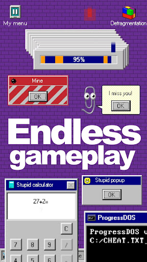 Progressbar95 - easy, nostalgic hyper-casual game Apkfinish screenshots 5