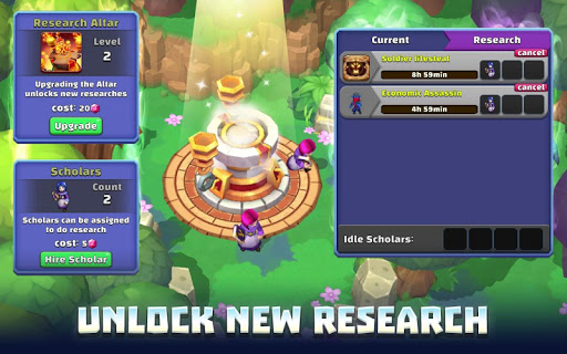 Summon Revolt: Magic Battle apkpoly screenshots 13