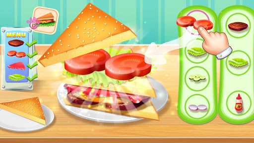 ud83eudd6aud83eudd6aMy Cooking Story - Deli Sandwich Master 2.5.5017 screenshots 4
