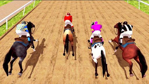 Horse Racing Games 2020: Horse Riding Simulator 3d 4.8 screenshots 2
