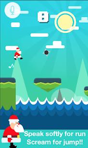 Santa Claus Scream:Endless Run & Jump Game Online Hack Android & iOS 2