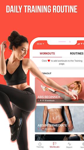 74workout - 28 Days Full Body Home Workout apktram screenshots 2
