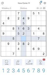 Sudoku - Free Classic Sudoku Puzzles screenshots 16