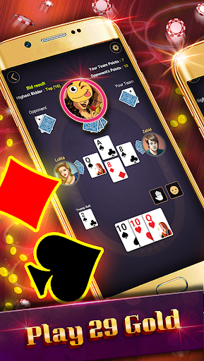 29 Card Game ( twenty nine ) Offline 2020 5.32 screenshots 12