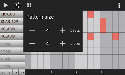 Groove Mixer 🎹 Music Beat Maker & Drum Machine Screenshot