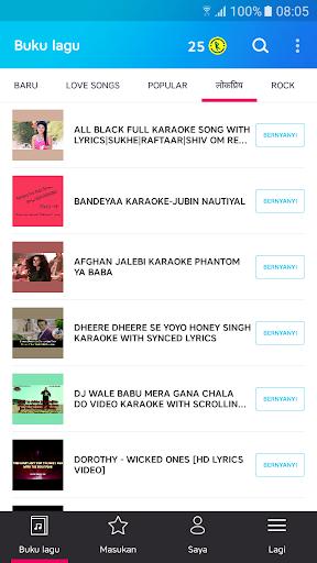 Karaoke – Bernyanyi Karaoke, Lagu Tak Terbatas