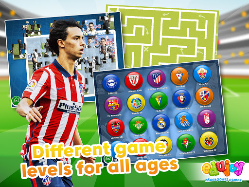 La Liga Educational games. Games for kids screenshots 21