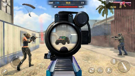 Real Commando Shooting 3D Games-Offline Games 2021 1.34 Screenshots 3