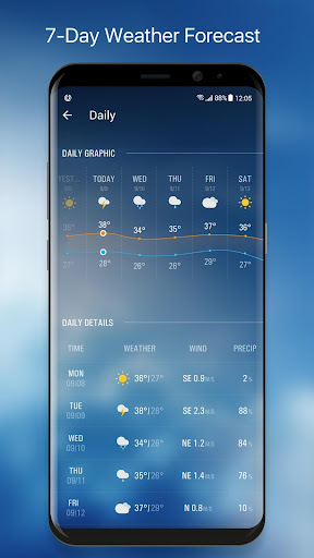 Live Local Weather Forecast 16.6.0.6328_50170 Screenshots 4