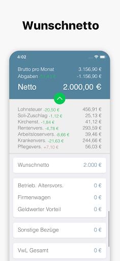 Bruno - Brutto Netto Rechner 2021  screenshots 2