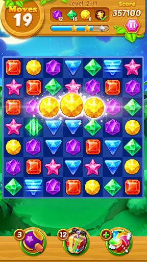 Jewels Track - Match 3 Puzzle 5.9.5038 screenshots 1