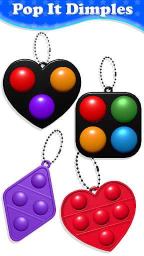 Fidget Toys Sensory Tools ASMR Pop It Toys  screenshots 17