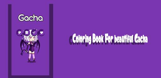 Coloring Book For Beautiful Gacha  screenshots 1