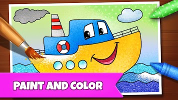 Drawing Games: Draw & Color For Kids