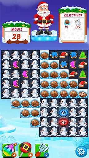 Christmas Cookie - Santa Claus's Match 3 Adventure 3.1.6 screenshots 7