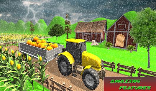 Mega Tractor Simulator - Farmer Life 2019 1.0.2 Screenshots 8