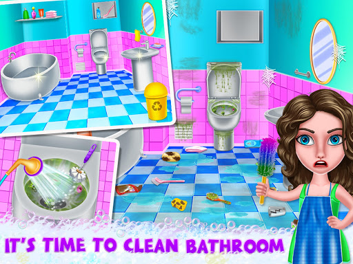 House Cleanup : Girl Home Cleaning Games 3.9.1 screenshots 10