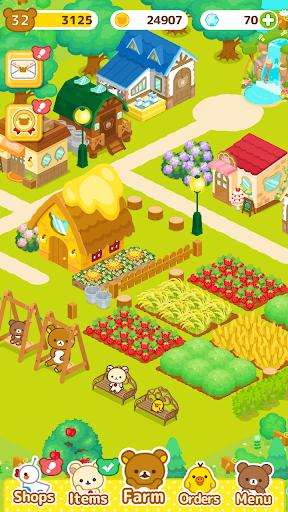 Rilakkuma Farm 3.1.0 screenshots 4