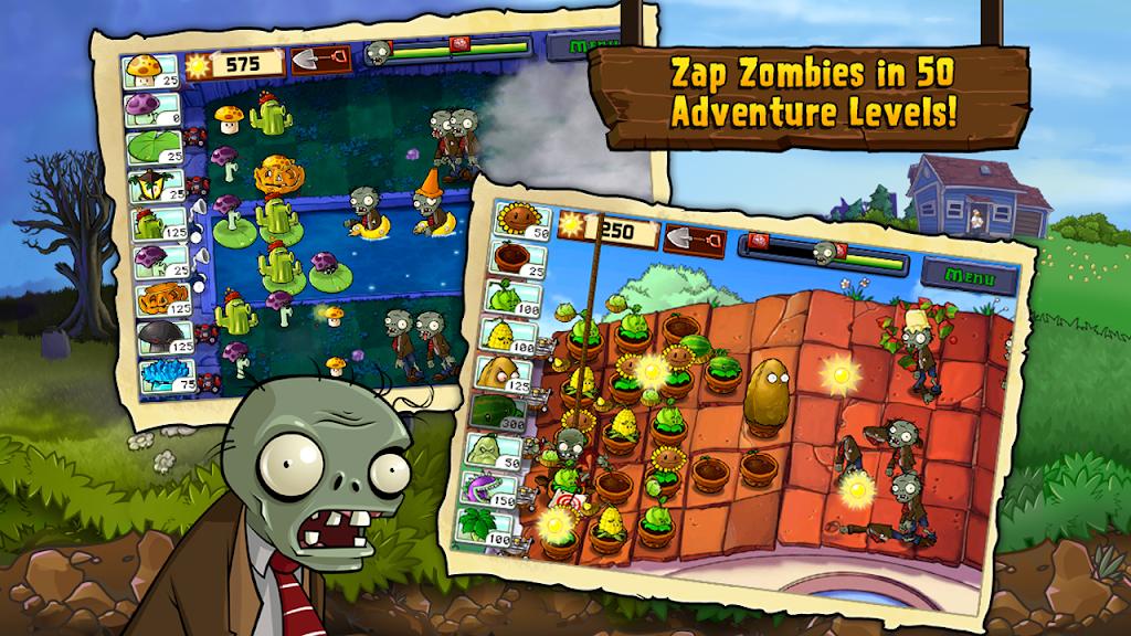 Plants vs. Zombies FREE  poster 1