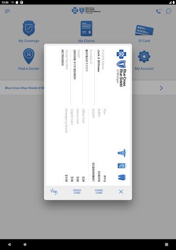 BCBSM modavailable screenshots 9