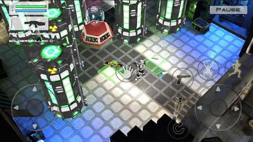 Star Space Robot Galaxy Scifi Modern War Shooter apklade screenshots 2