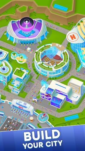 Diamond City: Idle Tycoon apkpoly screenshots 1