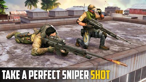Sniper 3D Shooting Strike Mission: New Sniper Game apklade screenshots 1