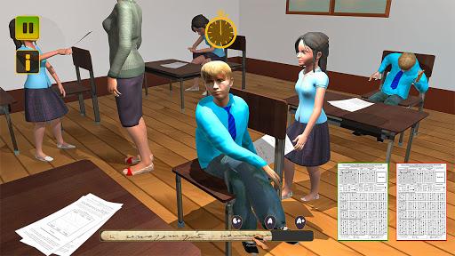 High School Cheater Boy: New Cheating Games 2020  screenshots 11