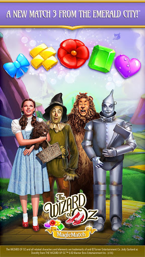 The Wizard of Oz Magic Match 3 Puzzles & Games 1.0.4864 screenshots 1