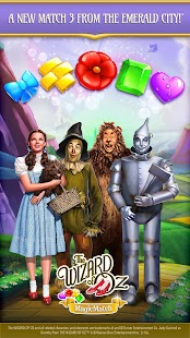 The Wizard of Oz Magic Match 3 Puzzles & Games Screenshot