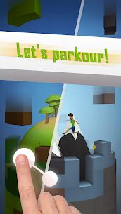 Tetrun: Parkour Mania MOD APK (Unlimited Money) 4