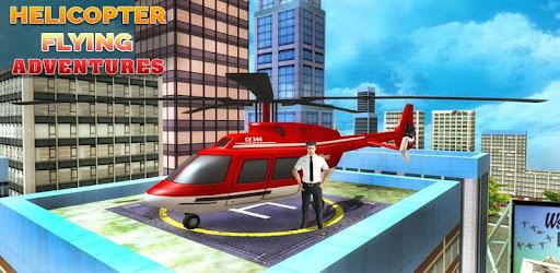 Screenshot of Helicopter Flying Adventures