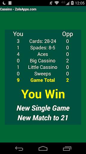 Cassino Card Game 10.21 screenshots 2