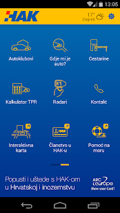 Verkehrsinfo in Kroatien – HAK Screenshot