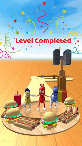 Wacky Sausage Game 2021: Fun Run Game 4 screenshots 5