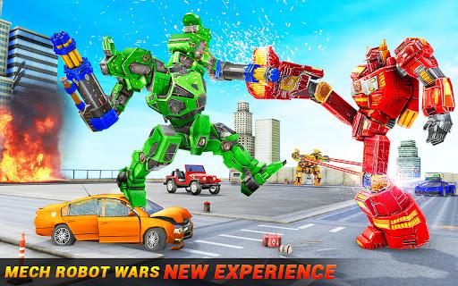 Horse Robot Car Game u2013 Space Robot Transform Wars  screenshots 3