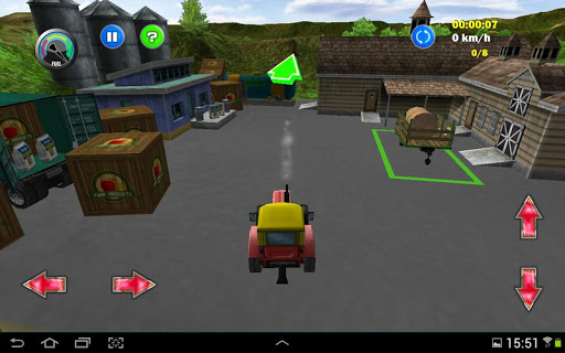 Tractor Farm Driving Simulator apkslow screenshots 17