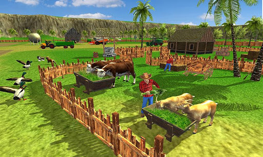 Cow farm milk factory farming dairy farm games  screenshots 1