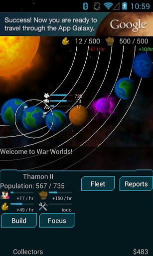 War Worlds 1.0.1027 screenshots 2
