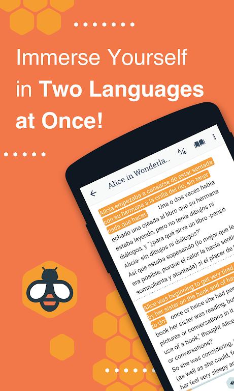 Beelinguapp: Learn Spanish, English, French & More  poster 0