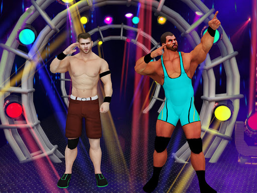 Tag Team Wrestling Games: Mega Cage Ring Fighting modavailable screenshots 10