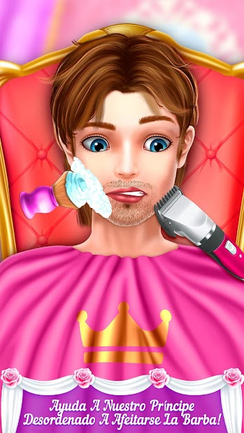 Captura de Pantalla 13 de princesa boda historia de amor para android