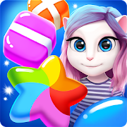 App Icon for Talking Angela Color Splash App in United States Google Play Store