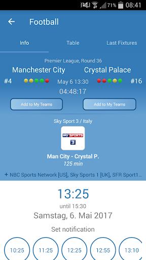 Live Sports TV Listings Guide 2.92 Screenshots 2