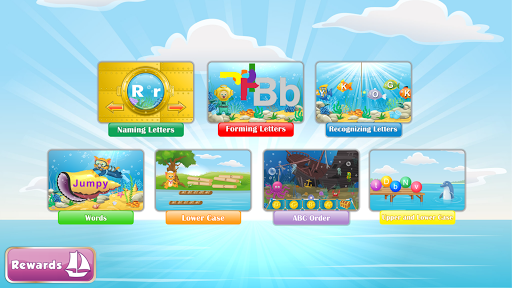 Learn ABC Letters with Captain Cat Latest screenshots 1