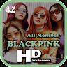 BLACKPINK 4K Wallpaper HD - All Member 💙 app apk icon