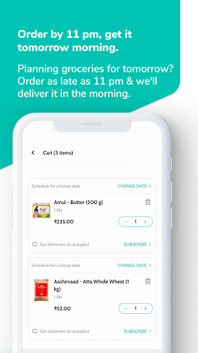 Supr Daily - Online Milk & Grocery Delivery App android2mod screenshots 2