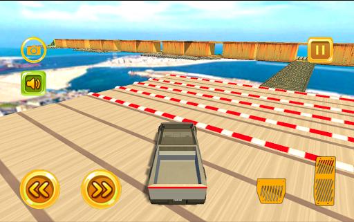 cyber truck jump adventure screenshot 3